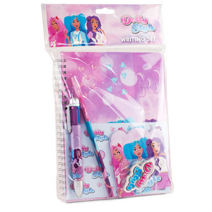 Dolly Style Writing Set w/ Multi-Color-Pen